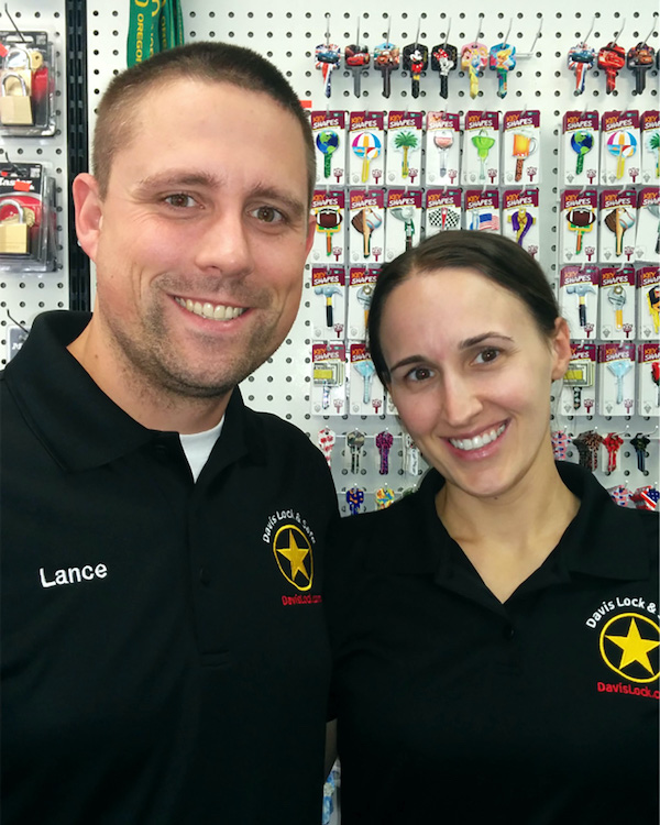 Lance & Ronda Peoples of Davis Lock & Safe